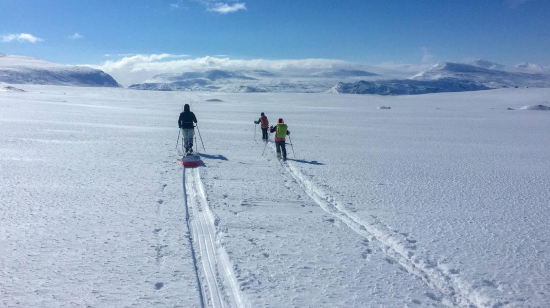 58 Grad Nord -Skiwandern mit Kindern in Lappland - Titel