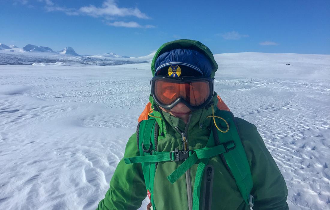 58 Grad Nord -Skiwandern mit Kindern in Lappland - Zwiebelschalenprinzip