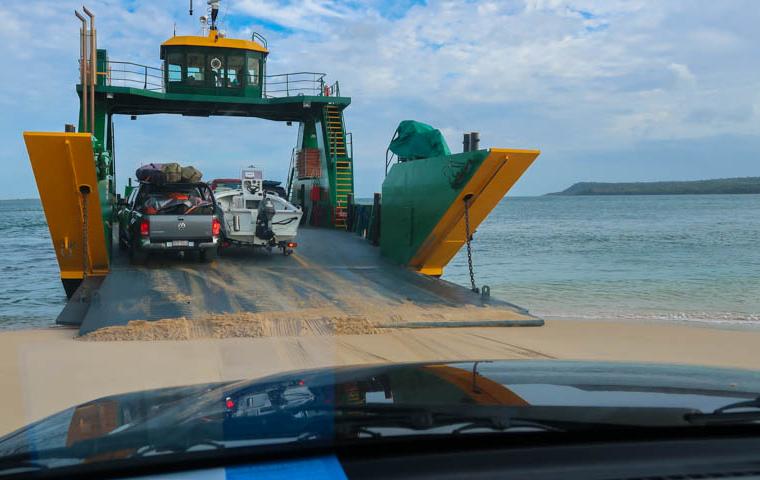 58 Grad Nord - Fotoparade 2018-2 - Krasse Sache - Fraser Island Ferry