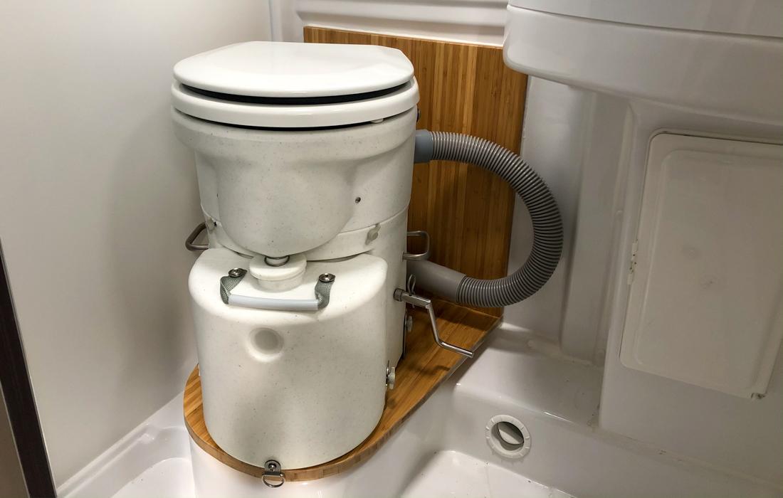58GradNord - Trockentrenntoilette - Fertig eingebaut!